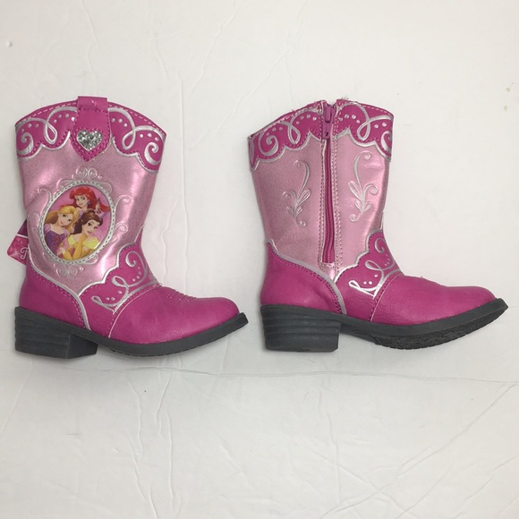 79fd83823e4 Toddler girls Disney princess boots 6 NWT